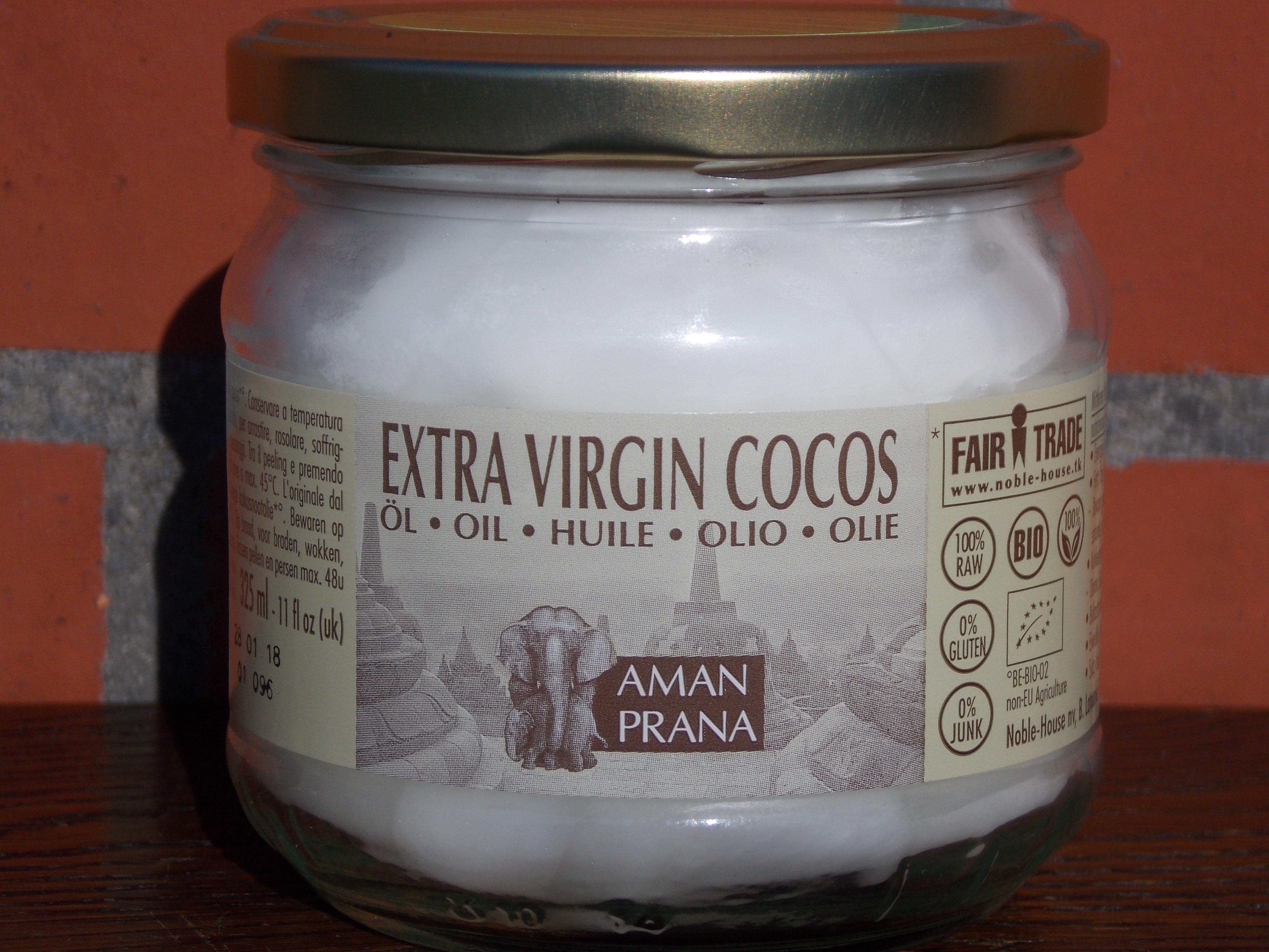 Amanprana  Extra Virgin Coconut Oil  Bunnies Choice-8474